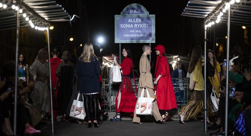 Снимка: Модната къща Соня Рикел бе закрита от търговски съд