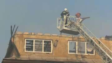Ограничен е пожарът в Бухово