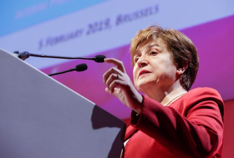 Кристалина Георгиева е сред фаворитите за шеф на МВФ
