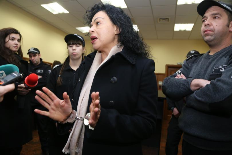 Снимка: Съдът отказа да пусне от ареста Евгения Банева