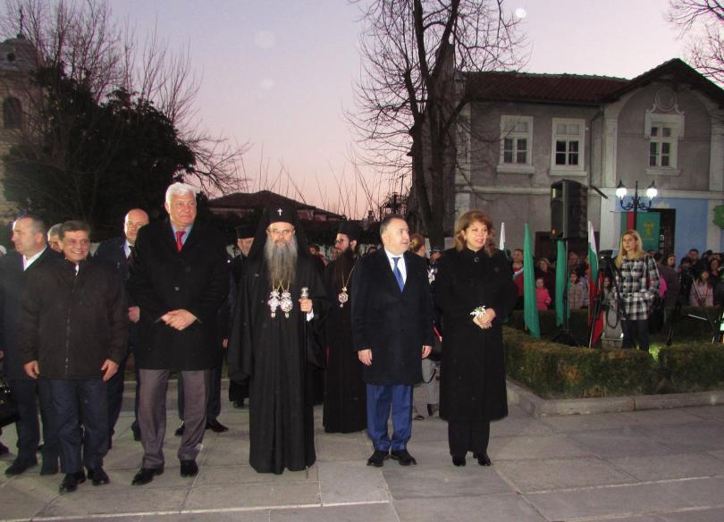 Снимка: В Карлово отбелязват 146 г. от гибелта на Васил Левски