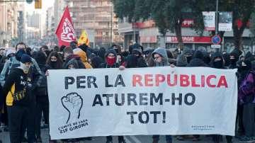 Стачка в Каталуния в подкрепа на отделянето от Испания