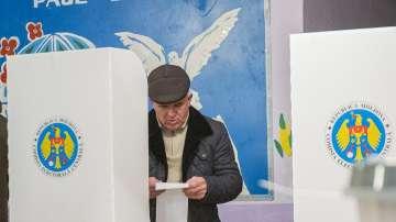 Четири партии влизат в новия парламент на Молдова