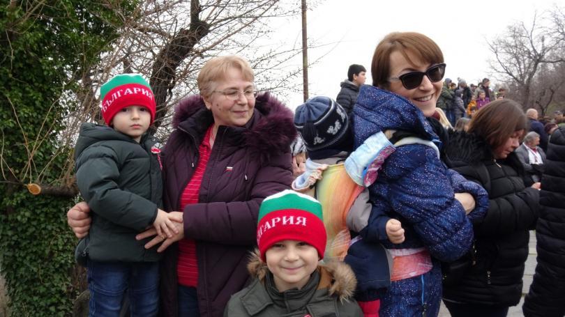 Хиляди пловдивчани се стекоха на Бунарджика, за да отбележат 3 март