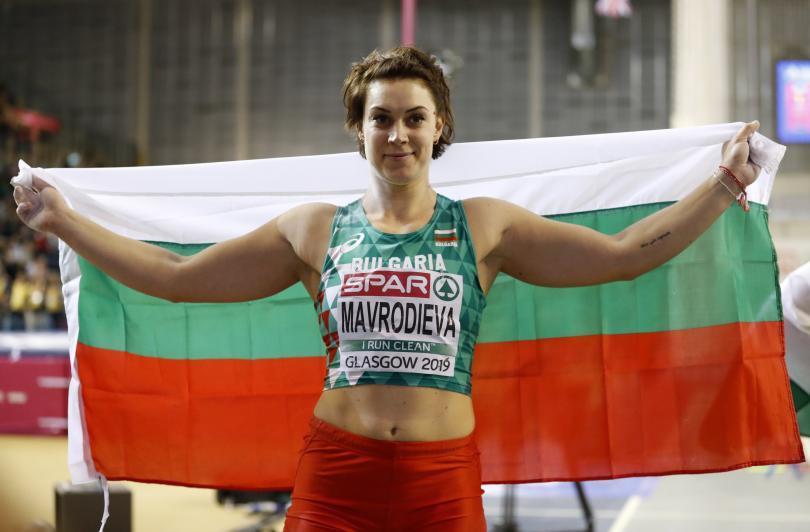 Радослава Мавродиева спечели европейската титла в тласкането на гюле