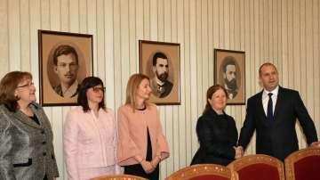 Президентът Радев и ЦИК обсъдиха подготовката за европейските избори