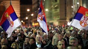 Сръбската опозиция готви рекорден протест срещу президента Вучич