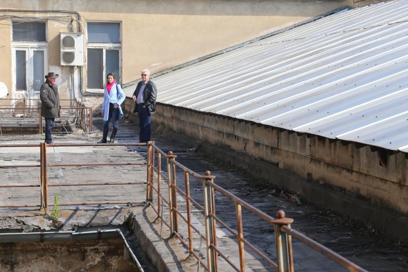 започна ремонтът националната библиотека