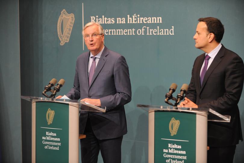 """Европейският съюз ще """"застане твърдо зад Ирландия"""" каквото и да"""