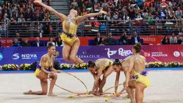 Ансамбълът ни по художествена гимнастика спечели 3 медала на Европейските игри