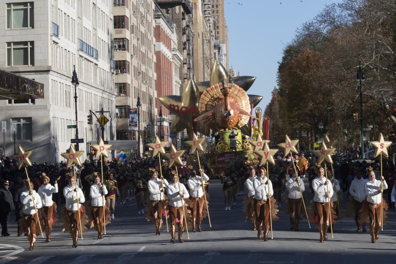 снимка 6 Рекорден студ за Деня на благодарността в Ню Йорк (СНИМКИ)