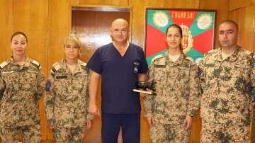 Военните ни медици получиха награди след успешна мисия в Мали (СНИМКИ)
