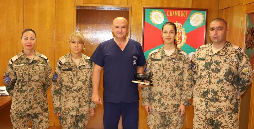 военните медици получиха награди успешна мисия мали снимки