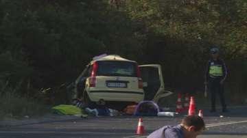 Две жени загинаха при катастрофа край Кочериново