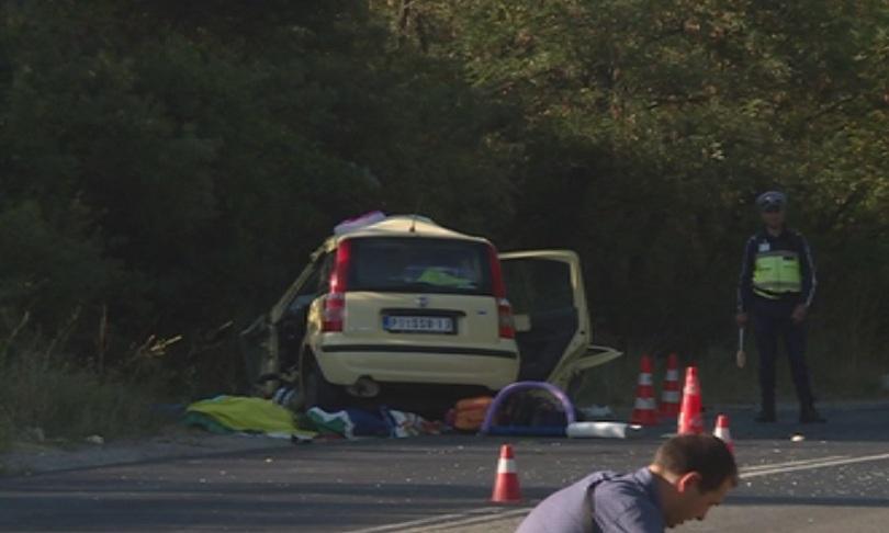 Снимка: Две жени загинаха при катастрофа край Кочериново