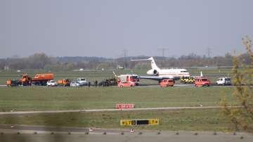 Германски правителствен самолет кацна аварийно в Берлин