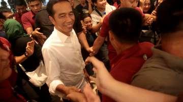 Джоко Уидодо бе преизбран за президент на Индонезия