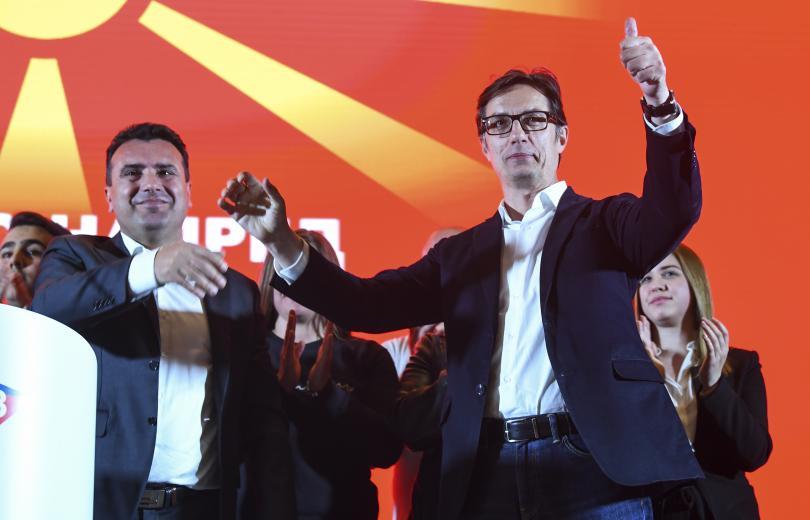 снимка 2 Стево Пендаровски води преди балотажа на изборите в Северна Македония