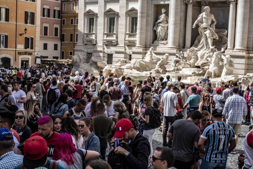 В Рим започна мащабна реставрация на градските паркове, площади и