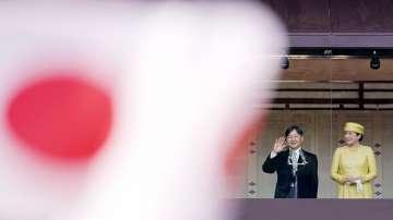 Новият японски император отправи първото си публично приветствие