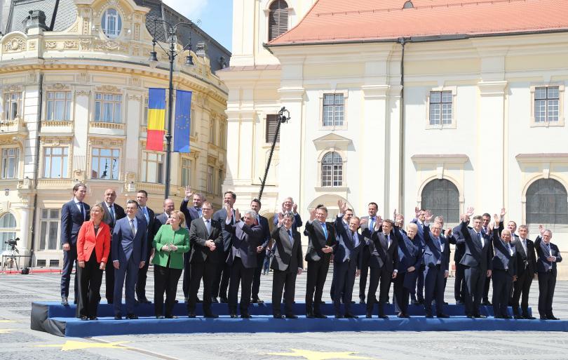 снимка 2 Европейските лидери обсъдиха в Сибиу предизвикателствата и приоритетите на ЕС