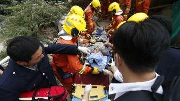 Седем загинаха под срутена сграда в Шанхай