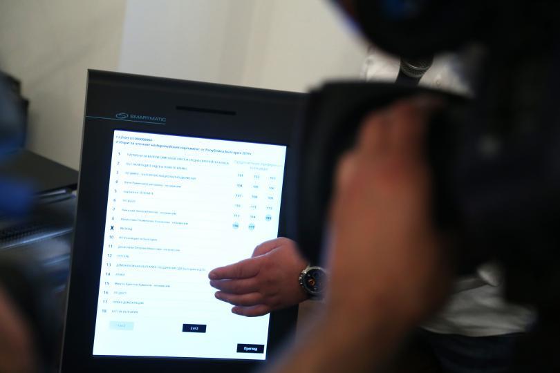 Всички 3300 машини за предстоящите европейски избори вече са доставени