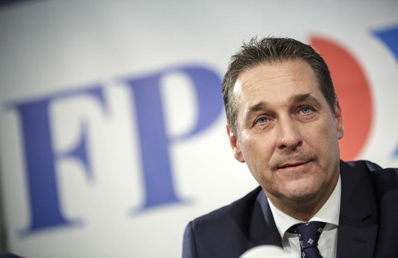Политическо земетресение разтърсва Австрия. Вицеканцлерът Хайнц-Кристиан Щрахе е пред оставка.
