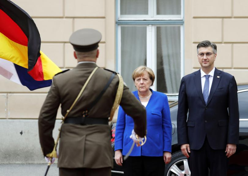 Първият секретар на хърватското посолство в Берлин Елизабета Маджаревич, обвинена