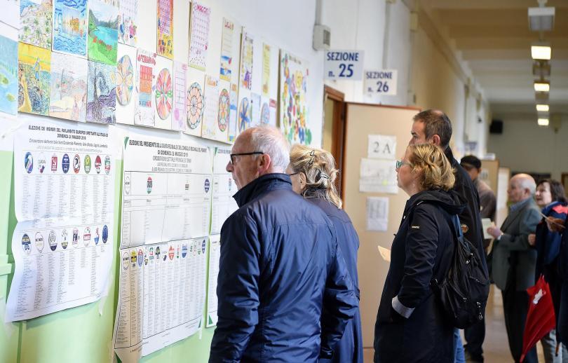 снимка 1 Евроскептичната партия на Матео Салвини спечели евроизборите в Италия