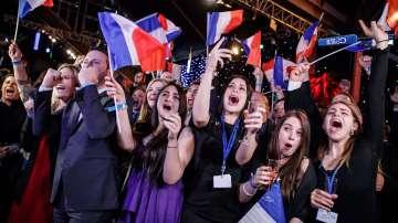 Крайнодесните спечелиха европейските избори във Франция