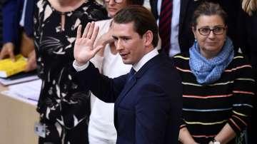 Австрийският канцлер Курц загуби вот на доверие