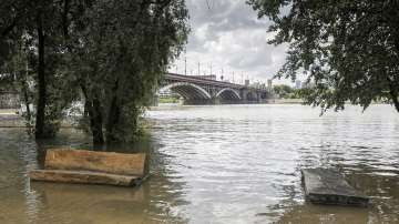 Проливни дъждове наводниха Западна Полша
