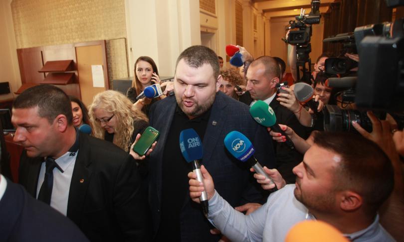 Делян Пеевски се отказа от мандата си в Европейския парламент