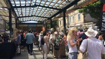 Приключи обновяването на Женския пазар в София