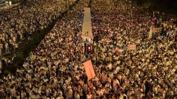 Над 1 милион протестираха срещу закон в Хонконг