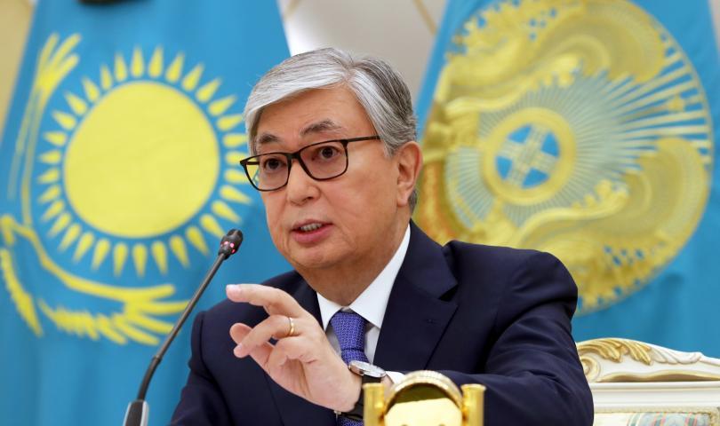 Казахският президент Касъм-Жомарт Токаев разпореди в сряда отписване на милиони