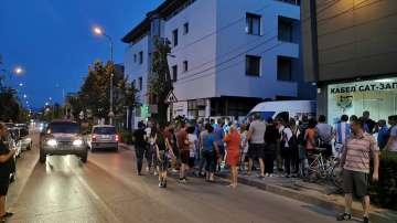 Протести в Гоце Делчев заради прекъснатите интернет и телевизия
