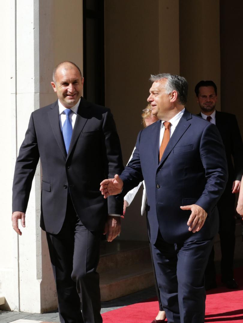 снимка 1 Президентът Радев в Унгария: Новият Европарламент трябва да работи за сближаване
