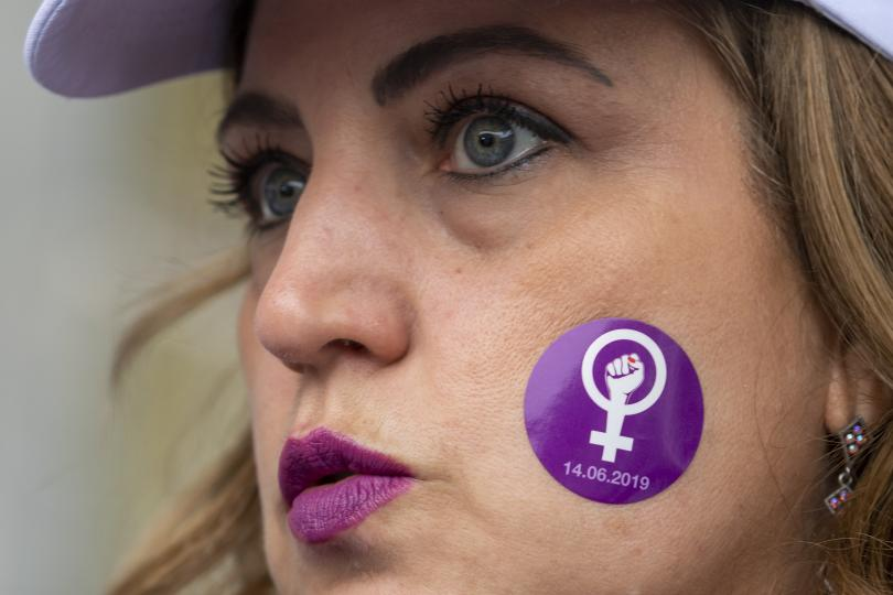 Жените в Швейцария излязоха днес на национална стачка за равни