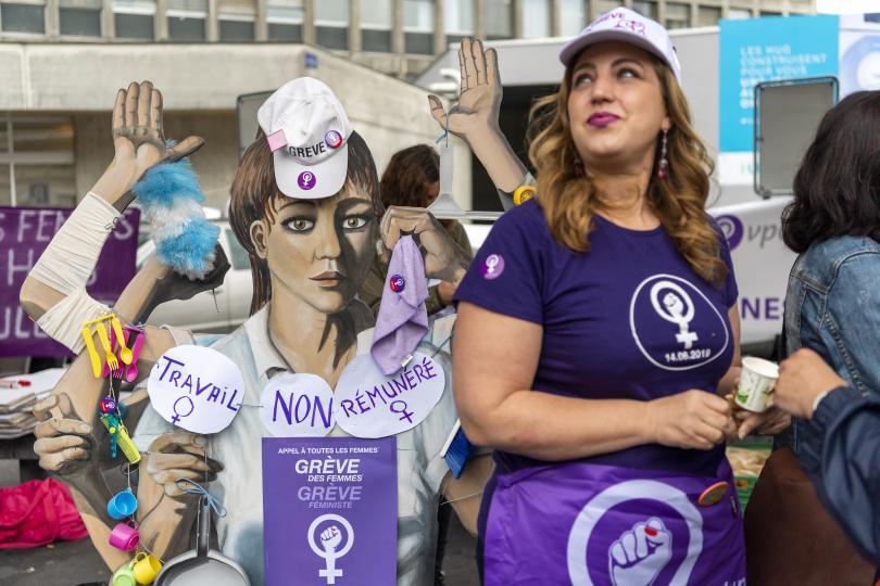 снимка 1 Жените в Швейцария протестираха за равни права и заплащане