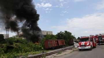 Пожарът на Сточна гара в София е потушен