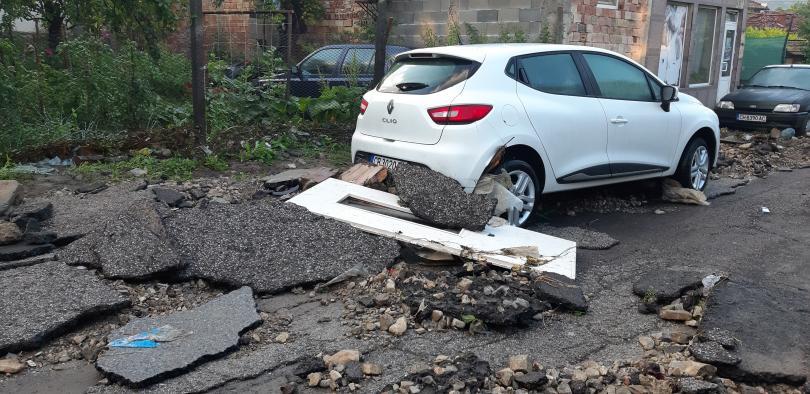 Бедствено положение в Котел заради проливните дъждове. От тях пострада