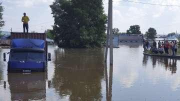 Седем души са загинали в наводненията в Русия