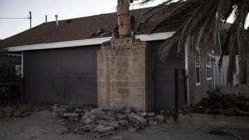 Силното земетресение в Калифорния не взе жертви (Снимки)