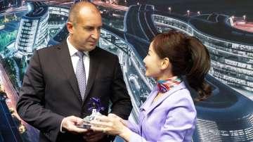 Румен Радев обсъди в Китай възможностите за увеличаването на туристите