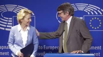 Фон дер Лайен се срещна с евродепутатите в Брюксел