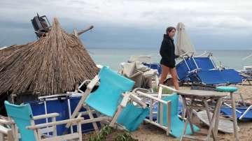 Бури и земетресение засегнаха Гърция
