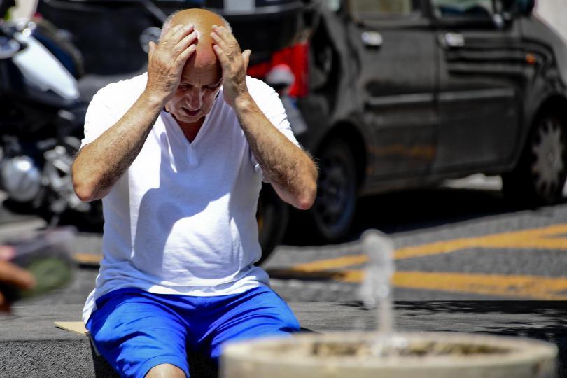 снимка 1 Втори ден термометрите в Европа сочат над 40 градуса