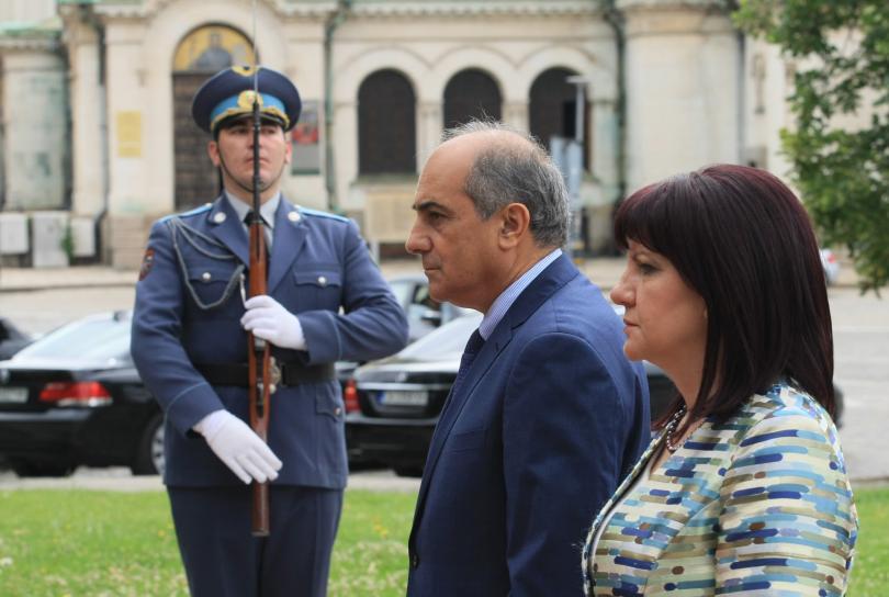 Председателят на кипърския парламент е на посещение у нас